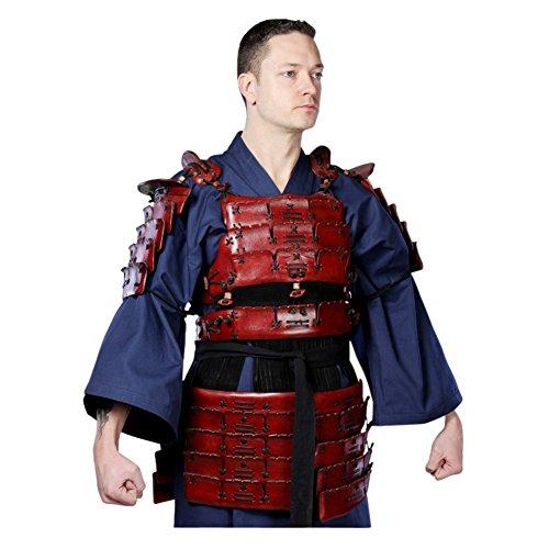 Samurai Armor Costume (Armor Venue - Leather Samurai Armor - Black Medium)