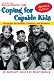 Coping for Capable Kids, Leonora M. Cohen and Erica Frydenberg, 1593632037