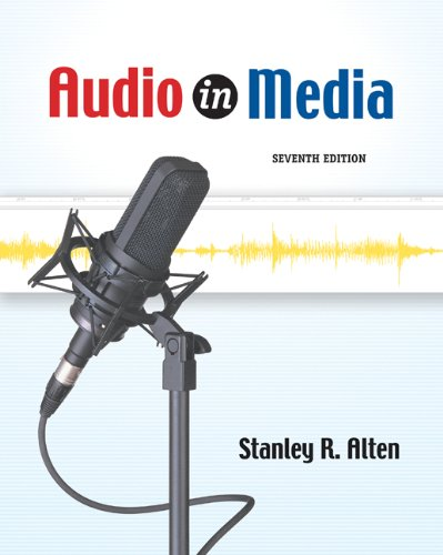 Audio in Media (with InfoTrac) (Wadsworth Series in Broadcast and Production) by Cengage Learning