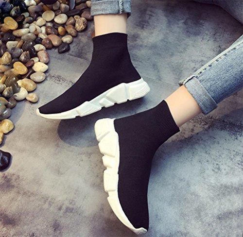 MEI I pattini singoli delle donne di autunno di calzano i pattini di sport di svago per aiutare le scarpe delle donne con le scarpe