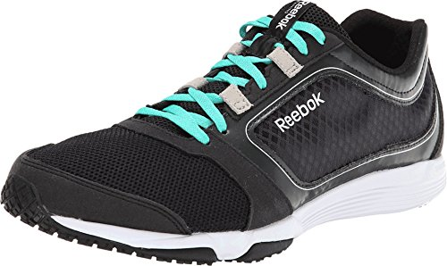 Reebok Sublite Sprint Heren Hardloopschoen Zwart-groenblauw