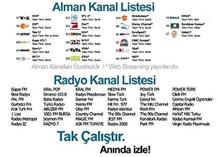 Naranja Tech IP TV Receptor HD 100 türk VE alman Canal Internet 1