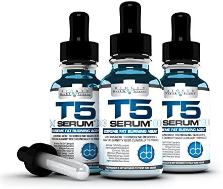 Biogen Science T5 Fat Burners product image