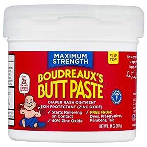 Boudreaux's Butt Paste Diaper Rash Ointment   Maximum...