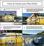 RipWake Wake Shaper - Wakesurfing Boat Attachment