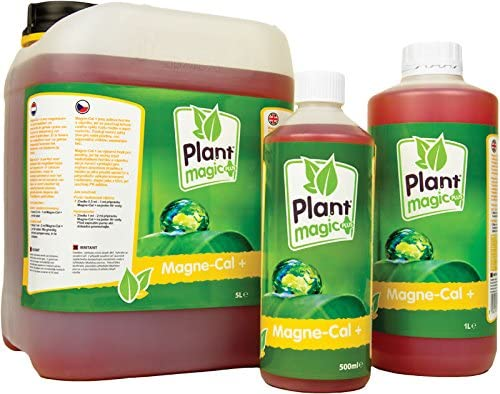 Magnesio marca Plant Magic - Magne-Cal de 1 l: Amazon.es: Jardín