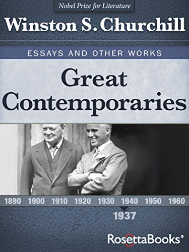 Amazon Great Contemporaries Essays And Other Works Ebook