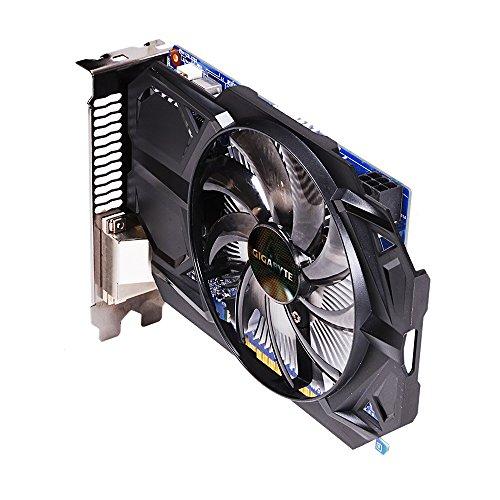 Gigabyte GV-N75TD5-2GI GeForce GTX 750 Ti 2GB GDDR5 - Tarjeta gráfica (GeForce GTX 750 Ti, 2 GB, GDDR5, 128 bit, 4096 x 2160 Pixeles, PCI Express 3.0)