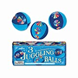 eeBoo Juggling Balls, Blue, Set of 3