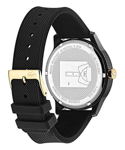 Lacoste Hommes Analogique Quartz Montres bracelet avec bracelet en Silicone – 2011010