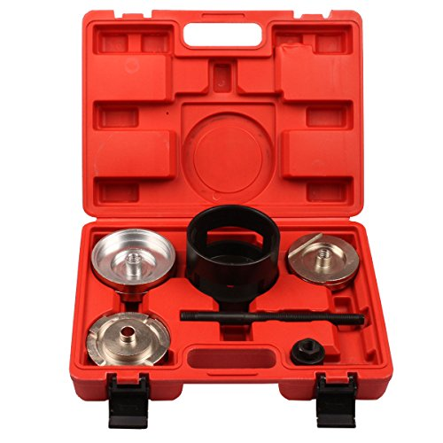 Qbace Rear Axle Subframe Bush Installation Tool Kit for BMW X5 Rear Bush Installation Tool