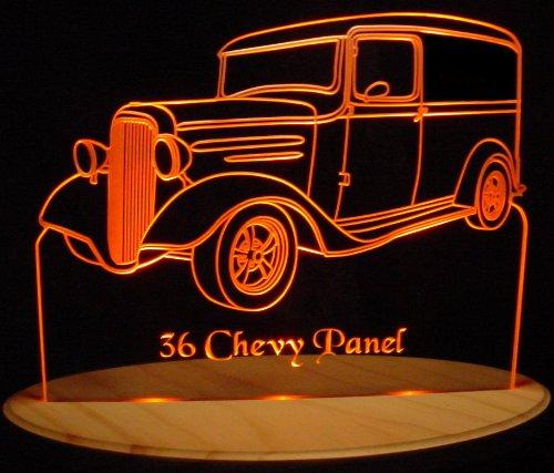 ValleyDesignsND 1936 Chevy Panel Acrylic Lighted Edge Lit 13