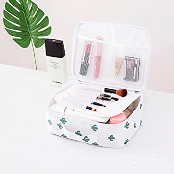 50f396724c8c Amazon.com : Organizer Travel Fashion Lady Bag Beautiian Storage ...