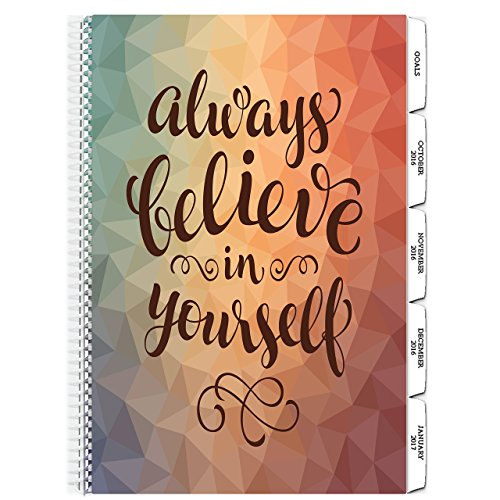 Tools4Wisdom Planner 2017 Calendar - Includes December 2016