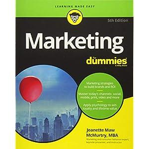 51WdullT77L. SS300  - Marketing For Dummies