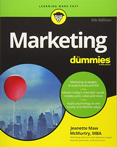 51WdullT77L - Marketing For Dummies