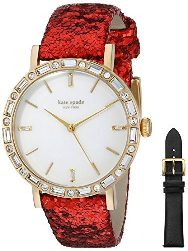 kate spade new york Women's 1YRU0654A METRO GRAND Analog Display Japanese Quartz Multi-Color Watch