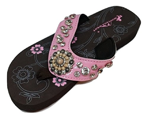 montana-west-womens-rhinestone-flower-two-tone-bling-flip-flops-10-bm-us-pink