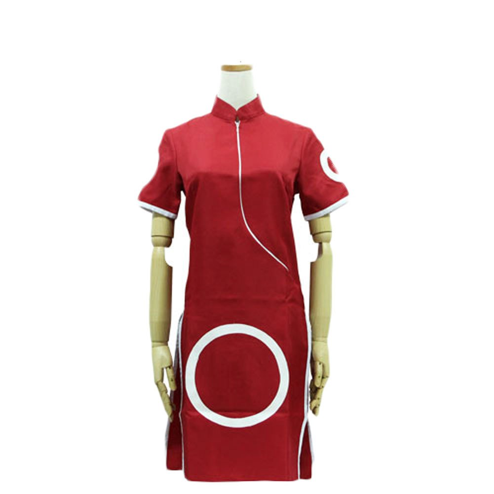 King Ma Women's Cosplay Sakura Haruno Suit
