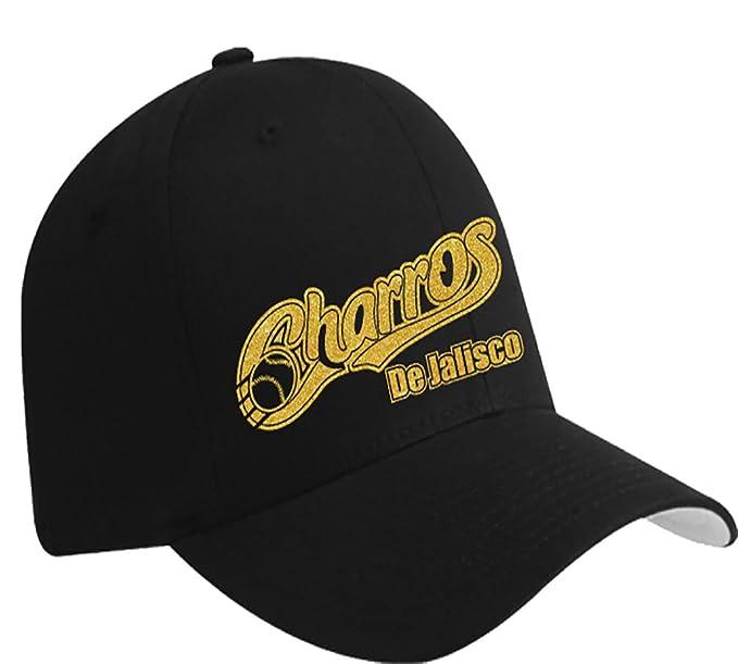 ffe5262d7 Charros De Jalisco Baseball Hat (Black) at Amazon Men's Clothing store: