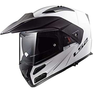 Amazon.es: LS2 Casco de Moto Metro Evo blanco - M, color blanco, talla M