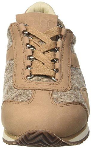 Diadora Equipe Hh Tricot, Zapatillas de Gimnasia para Mujer Marrone (Dark Brown)