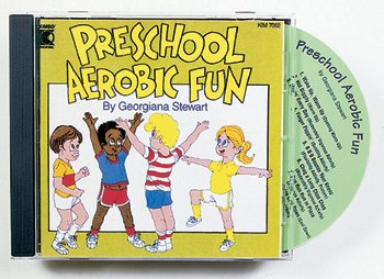 Kimbo KIM7052CD Preschool Aerobic Fun CD Ages 3-6
