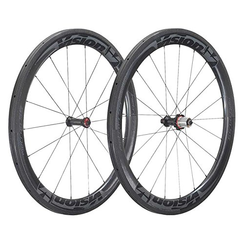 Vision Metron 55 SL 700C Clincher QR Old: F: 100 R: 130 Brake: Rim Pair 9/10/11SPD Wheel, 29