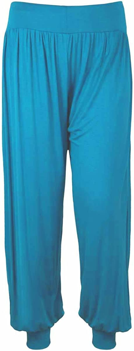 Boys Harem ALI Baba Trousers Printed Plain Costume Play Baggy Pants 4-13 Years Kids Childrens