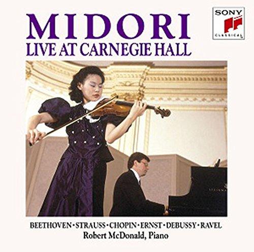 五嶋みどり(ヴァイオリン) ロバート・マクドナルド(ピアノ) / カーネギー・ホール・リサイタル