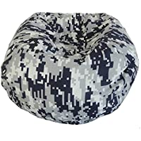 Ace Casual Furniture Medium Digital Camouflage Bean Bag Chair