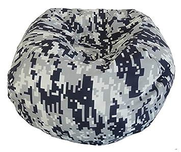 Ace Casual Furniture Medium Digital Camouflage Bean Bag Chair