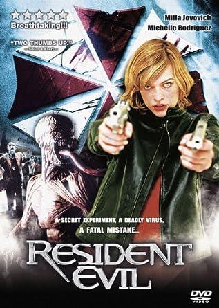 Resident Evil 2002 Milla Jovovich Michelle Rodriguez Dvd Amazon