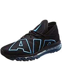 Mens Air Max Flair Black Turquoise Mesh Trainers (13...