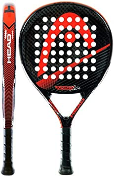 Head Bela Junior CB - Pala de pádel, Color Negro/Rojo/Gris: Amazon ...