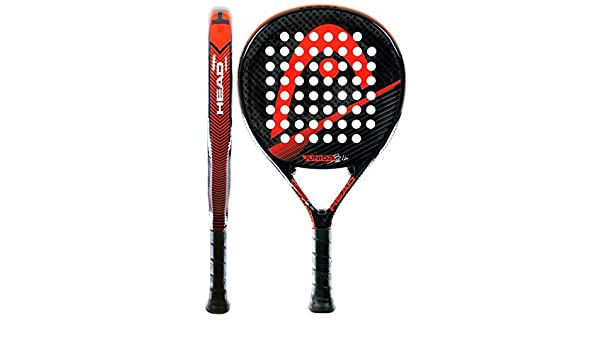 Head Bela Junior CB - Pala de pádel, Color Negro/Rojo/Gris ...