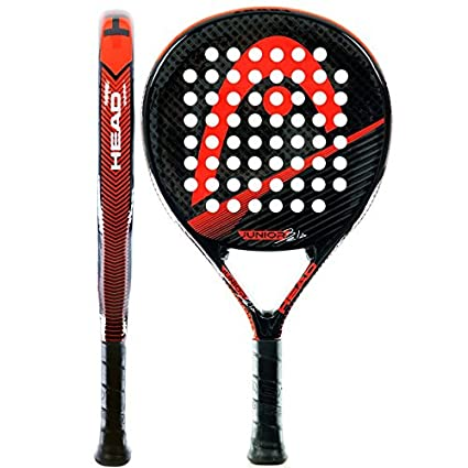 Head Bela Junior CB - Pala de pádel, color negro/rojo/gris