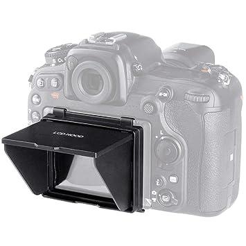 V BESTLIFE - Parasol para cámara réflex Digital (Pantalla LCD ...