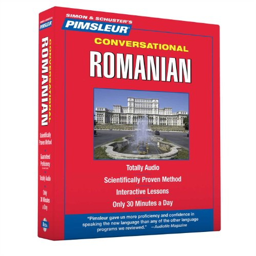 Pimsleur Romanian Conversational Course - Level 1 Lessons 1-16 CD: Learn to Speak and Understand Romanian with Pimsleur Language Programs by Brand: Pimsleur