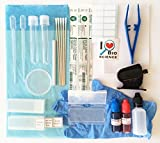 Rs' Science - 43-Piece All-in-One Microscope Slide Preparation Kit