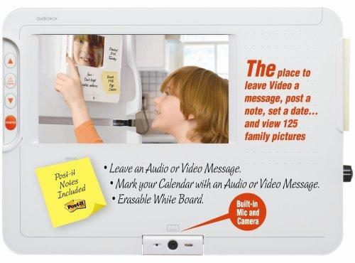 Audiovox Electronics Homebase DPF711K Digital Message/Video Center/ Digital Picture Frame