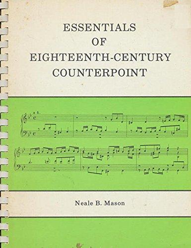 Essentials of Eighteenth Century Counterpoint
