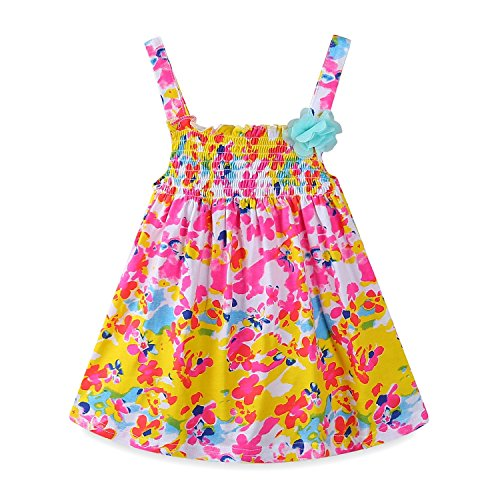 Mud Kingdom Baby Girl Dresses 18-24 Months Clothes For Holiday Flower