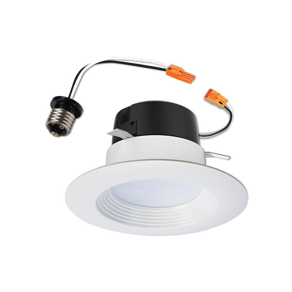 Halo LT460WH6927 4'' White 90CRI, 2700K, Integrated LED Recessed Retrofit Baffle Trim LED Module, White