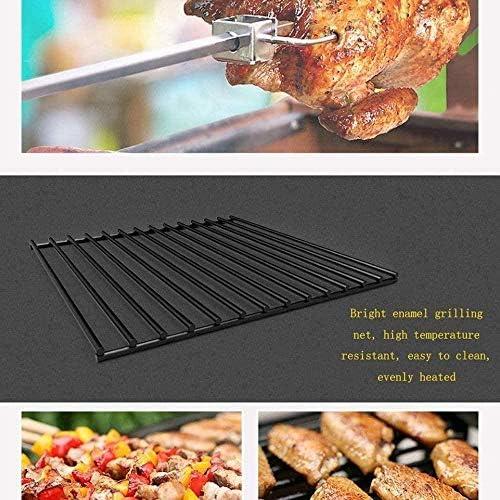Barbecue HZY Multi-Personne au Charbon épais Portable, Pique-Nique Pliante étagère dans Le domaine est Stable et Durable, 52 * 52 * 27.5cm