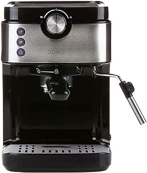 Domo DO711K cafetera eléctrica Encimera Máquina Espresso 0,9 L ...