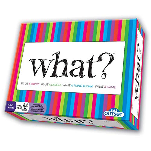 What? Party Game - Answer Silly Questions & Guess Who Said What - The Ultimate Laugh Out Loud Board Game (Features 288 Questions, Ages 18+)]()