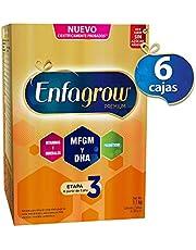 Leche de Crecimiento para Niños mayores de 12 Meses, Enfagrow Premium Etapa 3, 6 cajas de 1.1 kg cada una