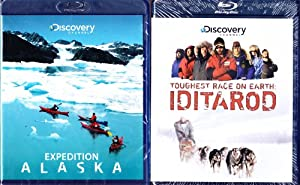The Discovery Channel : Iditarod Toughest Race on Earth : With Bonus Expedition Alaska : Widescreen Blu-ray Edition - 1 Blu-Ray with Over 4 Hours Run Time