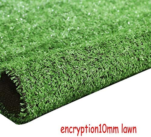 XEWNEG 10MM暗号化ガーデン人工芝、緑の多機能の偽の芝生のペットマットは、屋根都市壁の装飾の装飾、幅2mのために、切ることができます (Size : 2x15M)